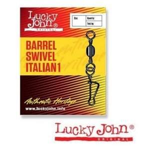 Вертлюжок-застёжка Lucky John BARREL SWIVEL ITALIAN 1