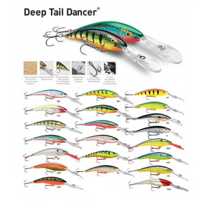 Воблер RAPALA Tail Dancer Deep TDD11