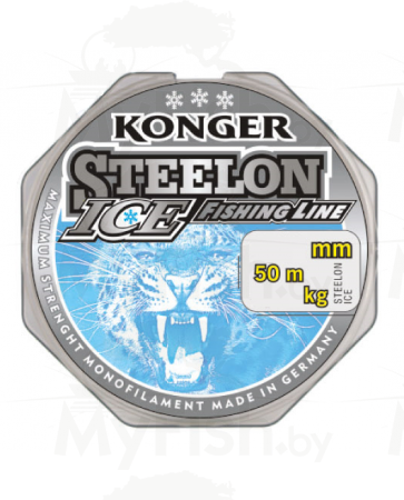 Леска KONGER STEELON ICE 50 м, арт.: УТ-00002510-RI