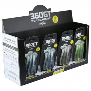 Комплект Storm 360GT Searchbait Minnow SBM45W незацепляйка (3 приманки 11см + 1 головка 7г)
