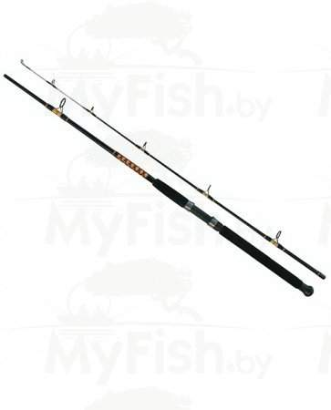 Спиннинг SALMO POWER STICK TROLLING SPIN, 2.40м, тест 50 - 100, композит, арт.: 2404-240