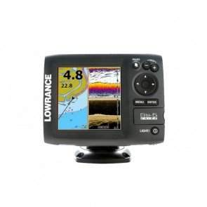 Эхолот Lowrance ELITE-5 CHIRP картплоттер