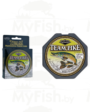 Леска KONGER TEAM PIKE 250-350 м, арт.: УТ-00002546-RI