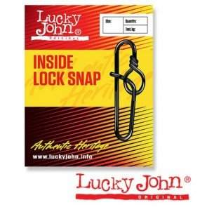 Застёжки Lucky John INSIDE LOCK SNAP, 5 шт.